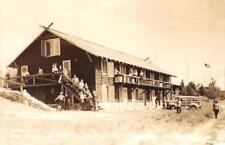 RPPC The Hitching Post, Jack & Jill Ranch, Montague, MI c1940s Vintage Postcard