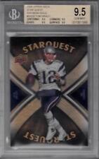 2008 Upper Deck Star Quest Rainbow Gold #SQ29 Tom Brady BGS 9.5 Patriots 1956