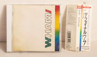 WHAM! The Final Japan CD Epic Sony 25・8P-5184 w/ Obi Booklet 1989 George Michael