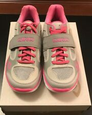 New Giro Whynd Women's Cycling Shoes US size 5, Silver Pink, Mtn bike or spin