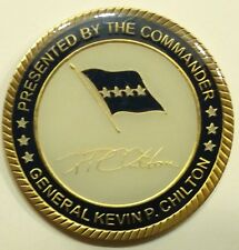 General Kevin Chilton Commander USSTRATCOM Challenge Coin / NSA / NASA Astronaut