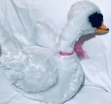 "Inter American Products WHITE SWAN 15"" Plush STUFFED ANIMAL Toy"