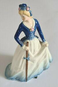 """The Shephardess Costume""-West German-Porcelain Figure-by Goebel-In V.G.C."