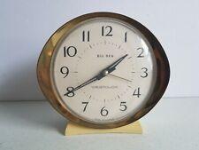 Big Ben Westclox Alarm Clock Canada Mid Century Metal Vintage