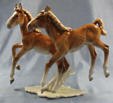 Haflinger pferd Porzellanfigur Hutschenreuther pferdefigur porzellan figur horse