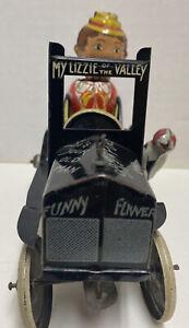 Louis Marx Funny Flivver Tin Windup Car