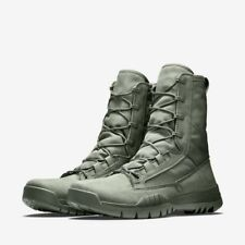 """Nike SFB Field 8"""" SAGE GREEN OLIVE MILITARY BOOTS SPECIAL 2 GEN 631371-222 sz 9"""