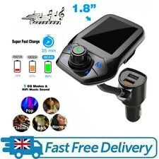 Handsfree Wireless Bluetooth 5.0 Car MP3 Player FM Transmitter Kit Radio Adapte