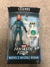 Fantastic Four Marvel Legends 2017 Invisible Woman 6in BAF