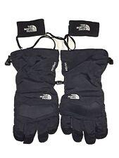 The North Face Hyvent Black Winter Gloves Mens XL, Drawstring Sking Snowboard