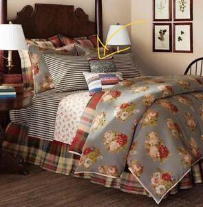 Chaps Hudson River Valley Sweater Knit Throw Toss Pillow Ralph Lauren Rustic
