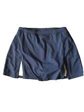 Aspire Women Blue White Active Tennis Run Skort Skirt Shorts Small