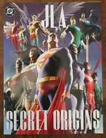 JLA Secret Origins 2002 DC TPB Oversized Alex Ross