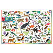 Eeboo Beautiful World 100 Piece Kids Toy Family Puzzle Age 5+  03528