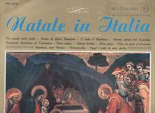 NATALE IN ITALIA disco LP 33 RENATO RASCEL BRUNO NICOLAI CORO SAT MONTE CAURIOL