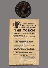 Northern Soul - 'Golden Torch' Stoke-On-Trent Flyer/Patch from 1970s - Repro