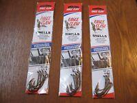 18 Snelled Eagle Claw 139 Bait Holder BaitHolder Fishing Hooks Size 4/0