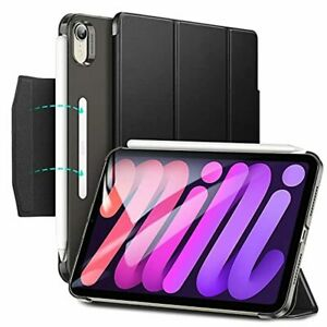 iPad Mini 6 Smart Case with Trifold Stand Magnetic Clasp Heavy Duty Slim Cover