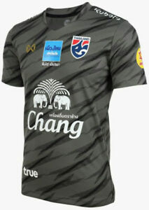 100% Official Thailand National Football Soccer Team Jersey Player Black