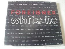 FOREIGNER - WHITE LIE - UK CD SINGLE