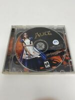 American McGee's Alice (In Wonderland) PC 2 CD-ROM Game Horror 2002 EA