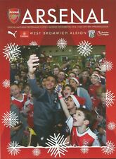 Football Programme - Arsenal v WBA - Premiership - 26/12/2016