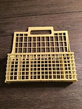 Vintage Dishwasher Yellow Silverware Basket Replacement 6 Compartments