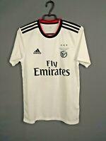 Benfica Jersey 2018/19 Away SMALL Shirt Mens Camiseta Trikot Adidas CF5288 ig93
