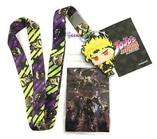 **License** JoJo's Bizarre Adventure Group & Dio Badge ID Holder Lanyard #37762