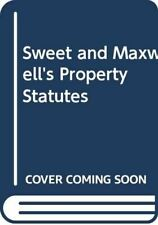 Sweet and Maxwell's Property Statutes, , Like New, Paperback
