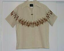 VTG IOLANI HAWAIIAN Warrior Spears Shirt Size M