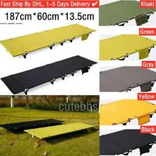 Outdoor Ultralight & Portable Folding Aluminium Alloy Cot Camping Tent Bed ~DHL