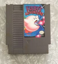 KIRBY'S ADVENTURE NINTENDO NES VIDEO GAME CARTRIDGE ONLY TESTED WORKS!
