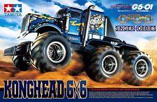 Tamiya 58646 1/18 R/C Konghead 6x6 (G6-01) Unassembled RC Truck Kit TAMC8646 GP