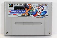 Rockman X3 Mega Man SFC Nintendo Super Famicom SNES Japan Import I7710