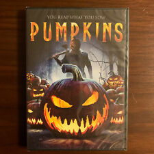 PUMPKINS DVD. HALLOWEEN HORROR! RARE AND COLLECTABLE! BRAND NEW AND SEALED!!!