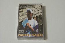 Paycheck-Paycheck 2 Paycheck CASSETTA/Tape 1998 (G-funk Ohio) RARE & SEALED