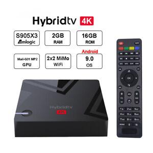 Box Android MECOOL K5 Combo S905 DVB-S2 T2 PVR 4K (K2 KII Pro) Menu funzionante
