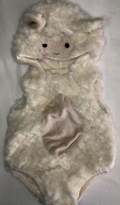 Pottery Barn Kids Lamb Costume 6-12 Months Halloween Dress Up