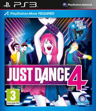 Just dance 4 ~ PS3 (en très bon état)