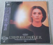 L'HISTOIRE D'ADELE H. (ISABELLE ADJANI) LASERDISC NTSC JAPON