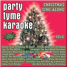 Party Tyme Karaoke: Christmas Sing Along by Sybersound (CD, May-2005) NEW
