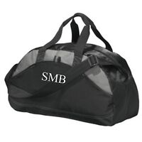 Monogrammed Kids Sports Duffel Bag Personalized Name Duffel for Groomsmen Gift