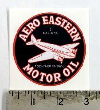 "Vintage Aero Eastern Motor Oil sticker decal sign 3"""
