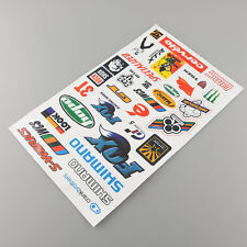 BMX MTB Road Bike Cycling Bicycle Decal Cool Fashion Sheet Stickers Sticker HOT