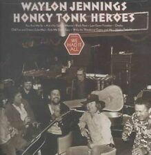 Honky Tonk Heroes 0744659961922 by Waylon Jennings CD