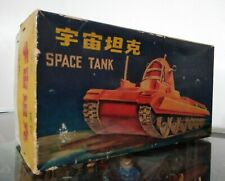 VINTAGE SPACE TANK GYRD ACTION ROBY ORIGINAL TOY CHINA BOX ONLY 1960's
