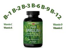 SPIRULINA Tablets 100% Plant-Based Dietary Supplement (1 Bottle)