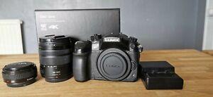 Panasonic GH4 Video and still camera,Lumix 20mm 1.7 lens & Lumix 14-140mm 3.5-5