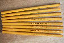 VINTAGE Czechoslovakia HARDTMUTH KOH-I-NOOR Lot of 8 Pencils 1500 HB Wood
